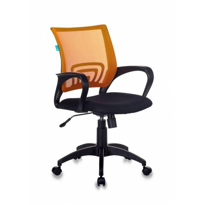 Кресло Бюрократ CH-695NLT оранжевый TW-38-3 сиденье черный TW-11 сетка/ткань крестовина пластик купить по выгодным ценам
