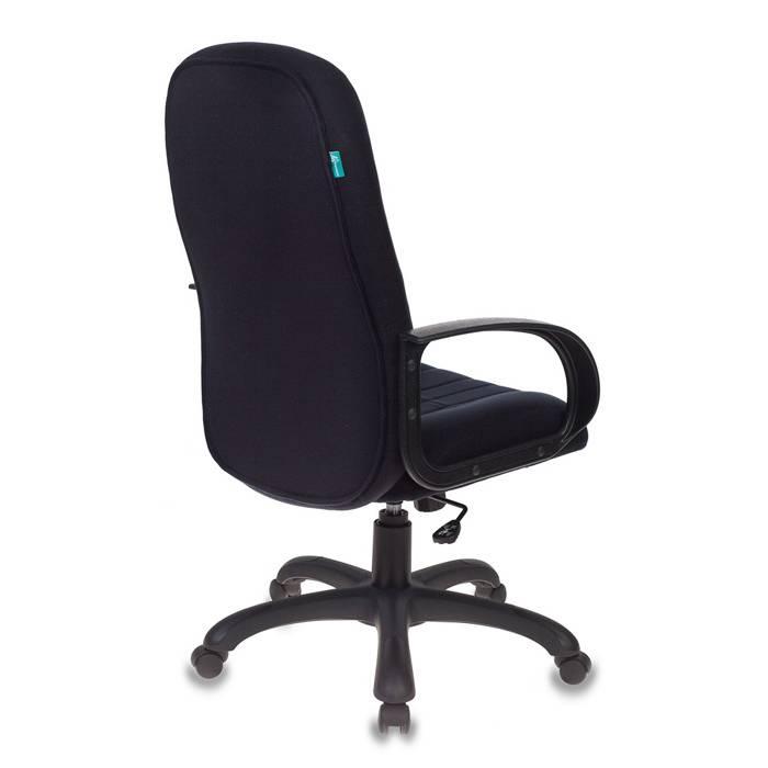 Кресло руководителя Бюрократ T-898AXSN/Black черный купить по выгодным ценам
