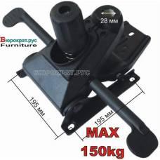 Механизм для кресла Мультиблок с синхро-платой 195х195 мм
