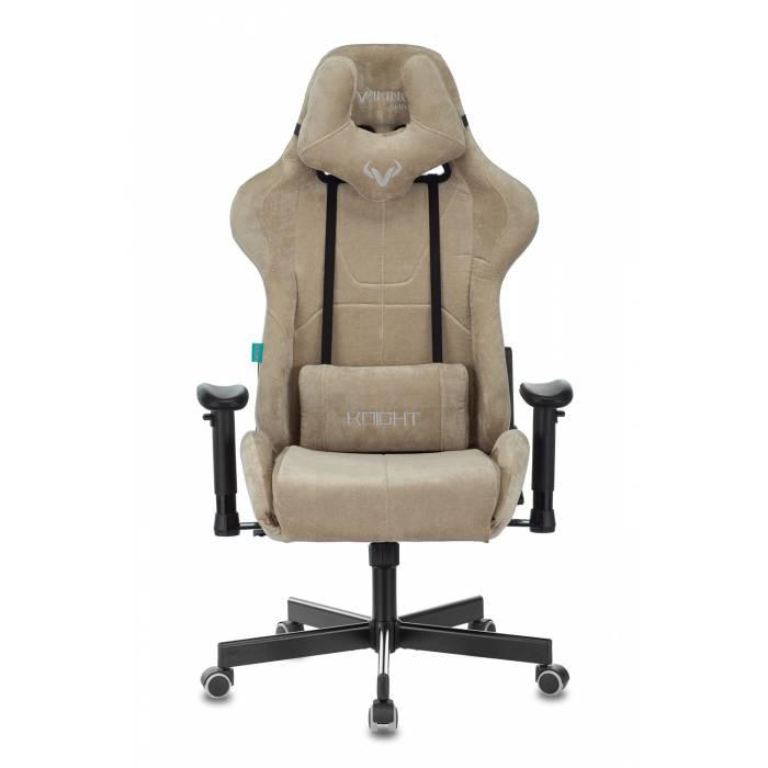 Кресло игровое Бюрократ VIKING KNIGHT LT21 FABRIC песочный крестовина пластик купить по выгодным ценам