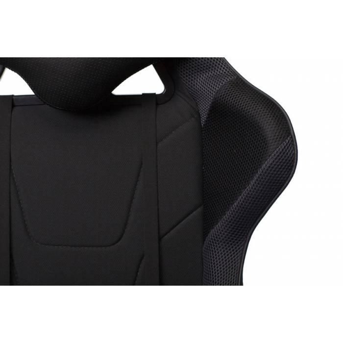 Кресло игровое Бюрократ VIKING 4 AERO BLACK EDITION черный искусст.кожа/ткань купить по выгодным ценам