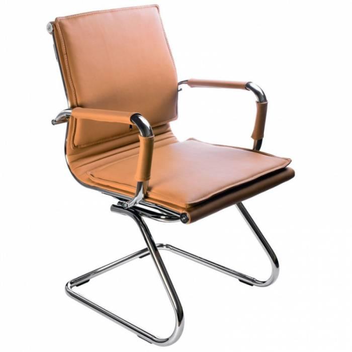 Кресло Бюрократ CH-993-Low-V/Camel низкая спинка светло-коричневый искусственная кожа купить по выгодным ценам