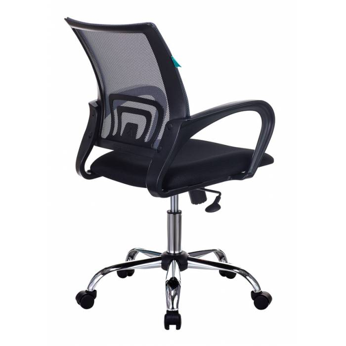 Кресло Бюрократ CH-695N/SL/DG/TW-11 темно-серый TW-04 сиденье черный TW-11 крестовина хром купить по выгодным ценам
