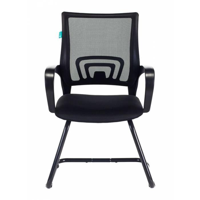 Кресло Бюрократ CH-695N-AV черный TW-01 сиденье черный TW-11 полозья металл черный купить по выгодным ценам