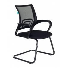 Кресло Бюрократ CH-695N-AV/B/TW-11 на полозьях черный TW-01 сиденье черный TW-11