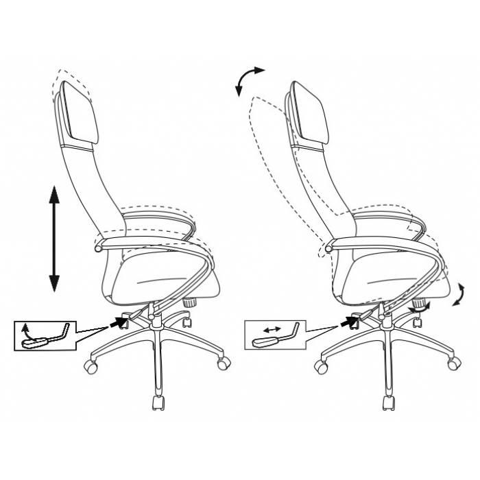 Кресло Бюрократ CH-608 черный TW-01 сиденье черный TW-11 искусст.кожа/сетка/ткань с подголов. крестовина пластик купить по выгодным ценам