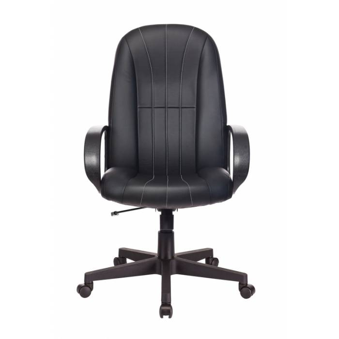 Кресло руководителя Бюрократ T-898/#B черный искусственная кожа купить по выгодным ценам