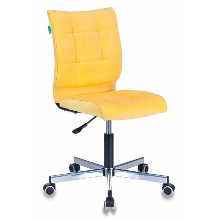 Кресло Бюрократ CH-330M/VELV74 желтый Velvet 74 крестовина металл купить по выгодным ценам