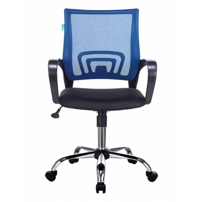 Кресло Бюрократ CH-695N/SL/BL/TW-11 спинка сетка синий TW-05 сиденье черный TW-11 крестовина хром купить по выгодным ценам