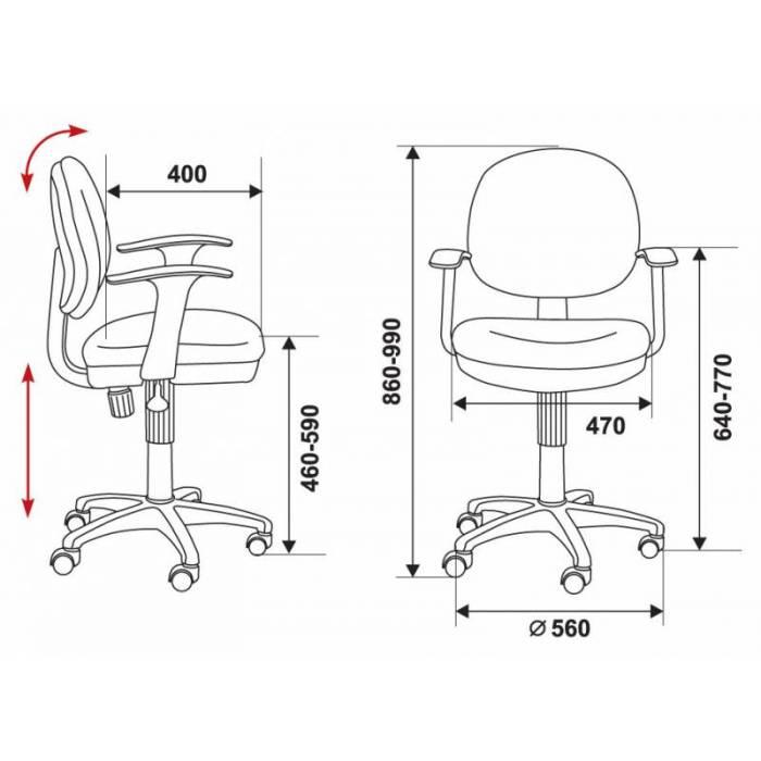 Кресло детское Бюрократ CH-W356AXSN/15-75 оранжевый 15-75 колеса белый/оранжевый (пластик белый) купить по выгодным ценам