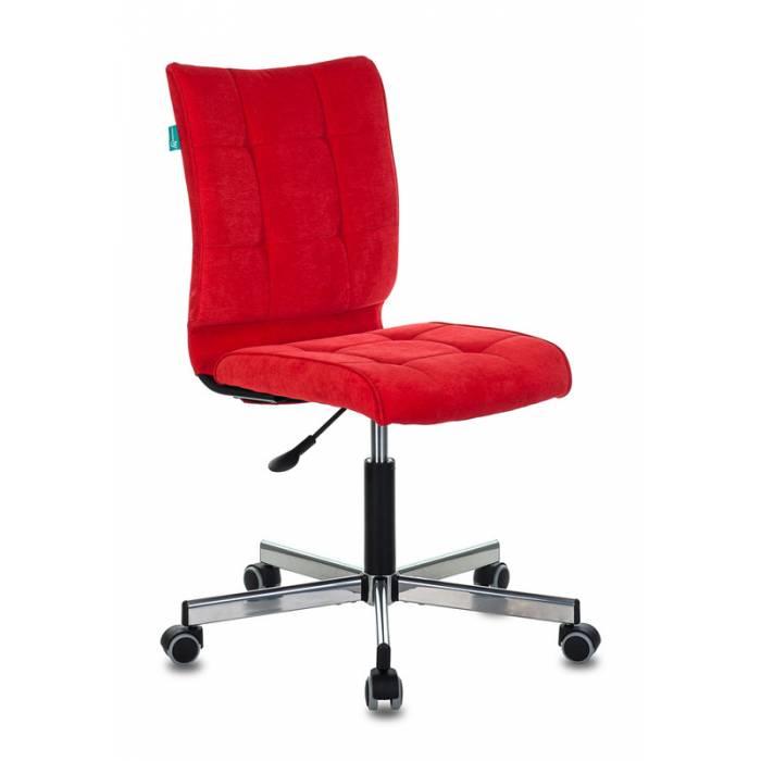 Кресло Бюрократ CH-330M/VELV88 красный Velvet 88 крестовина металл купить по выгодным ценам