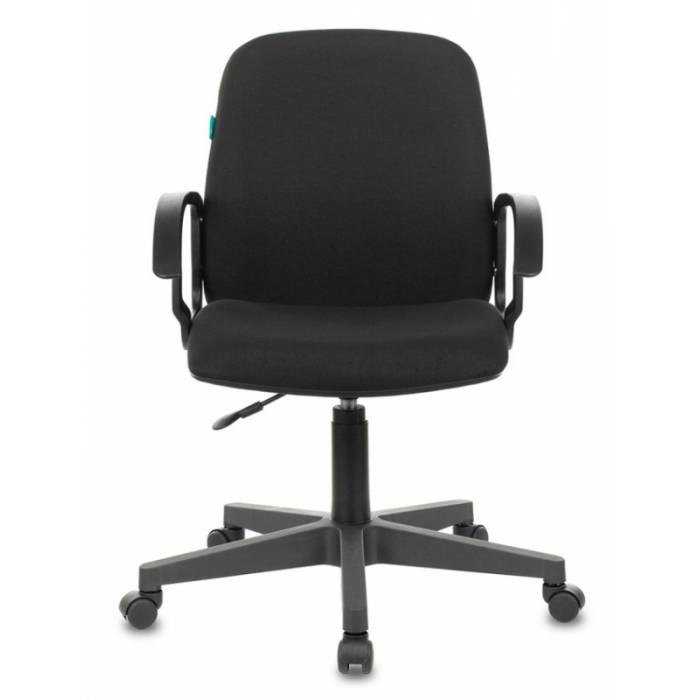Кресло Бюрократ CH-808-LOW/#B низкая спинка сиденье черный 3С11 НА ПИАСТРЕ купить по выгодным ценам