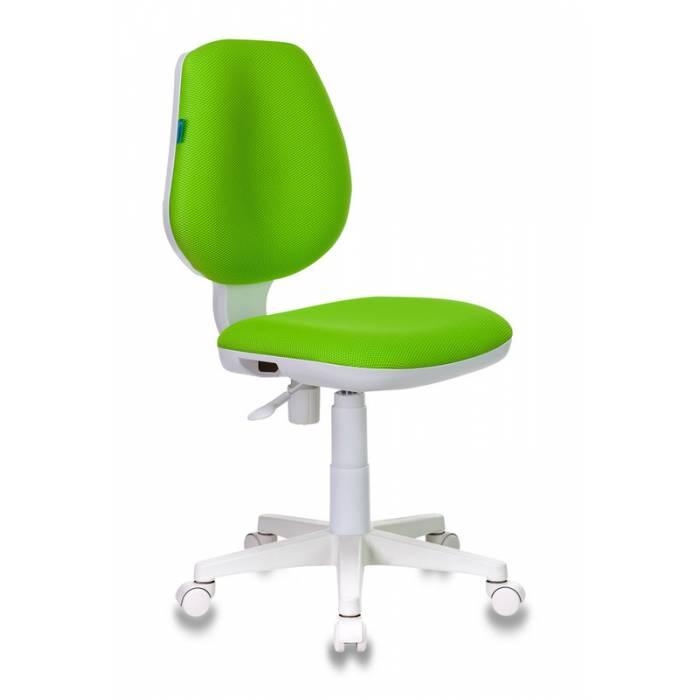 Кресло детское Бюрократ CH-W213/TW-18 салатовый TW-18 (пластик белый) купить по выгодным ценам