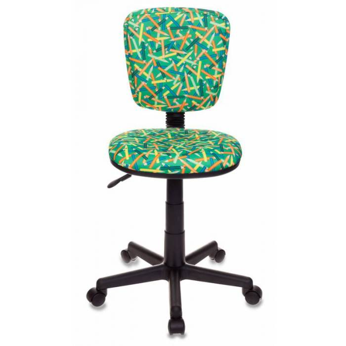 Кресло детское Бюрократ CH-204NX/PENCIL-GN зеленый карандаши купить по выгодным ценам