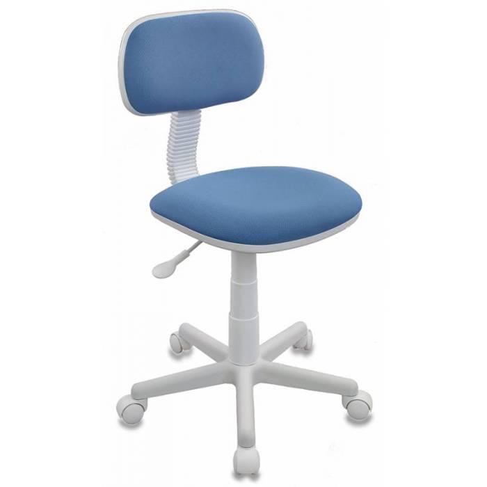 Детское кресло Бюрократ CH-W201NX голубой 26-24 крестовина пластик пластик белый купить по выгодным ценам