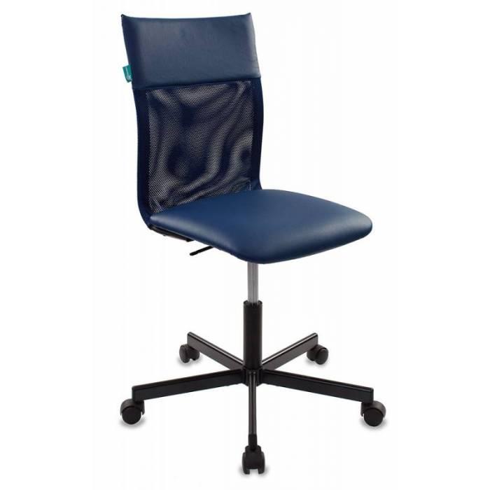 Кресло Бюрократ CH-1399/BLUE спинка сетка синий сиденье синий искусственная кожа крестовина металл купить по выгодным ценам