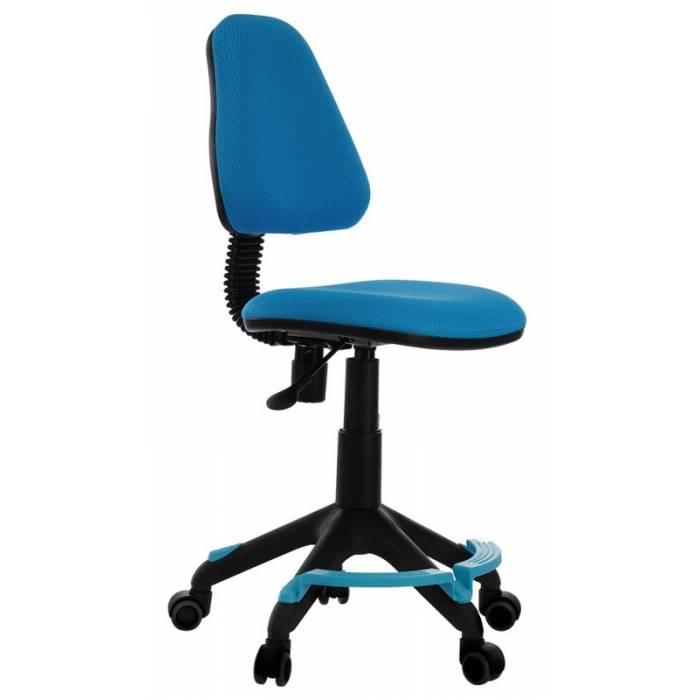 Кресло детское Бюрократ KD-4-F/TW-55 голубой TW-55 купить по выгодным ценам