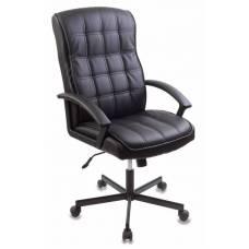 Кресло руководителя Бюрократ CH-823AXSN/BLACK черный искусственная кожа крестовина металл