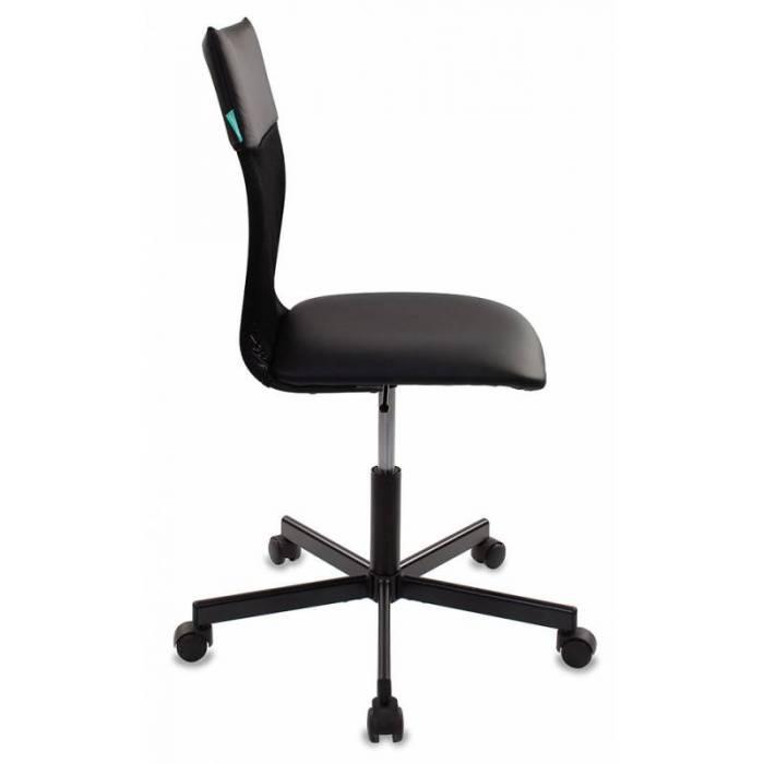 Кресло Бюрократ CH-1399 черный Leather Black искусст.кожа/сетка крестовина металл купить по выгодным ценам