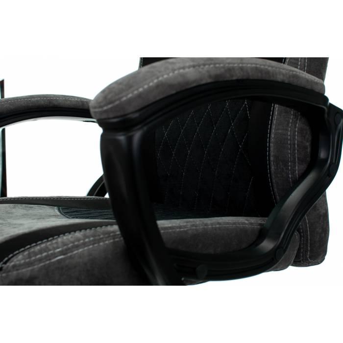 Игровое кресло Бюрократ VIKING 6 KNIGHT Fabric черный с подголов. крестовина металл купить по выгодным ценам