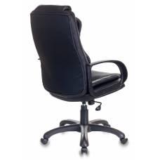 Кресло руководителя Бюрократ CH-839/BLACK черный Пегас искусственная кожа