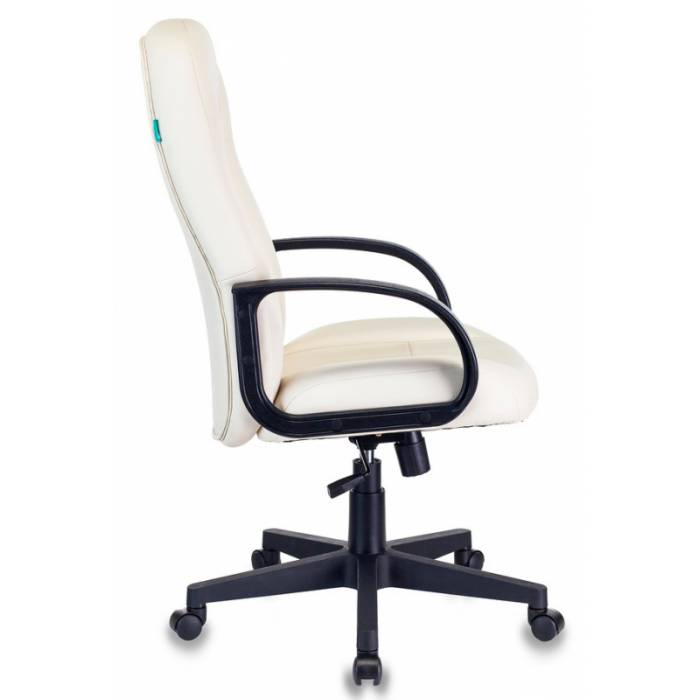 Кресло руководителя Бюрократ T-898/OR-10 молочный искусственная кожа купить по выгодным ценам