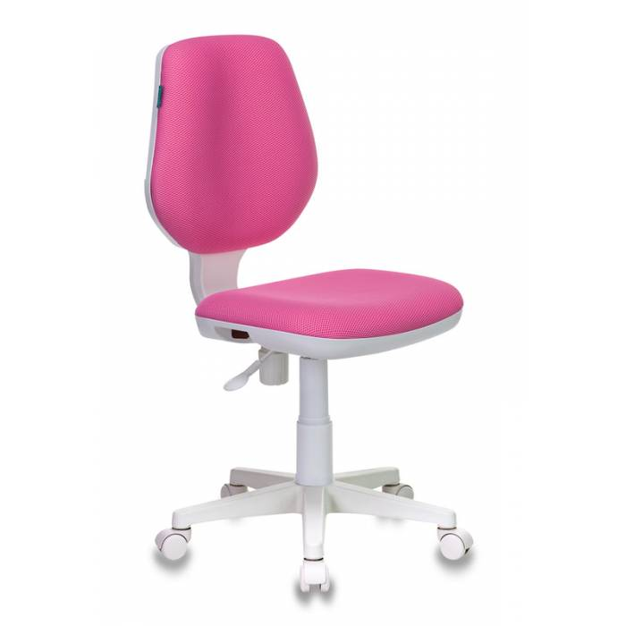Кресло детское Бюрократ CH-W213/TW-13A розовый TW-13A (пластик белый) купить по выгодным ценам