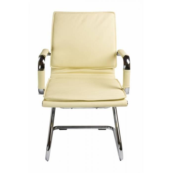 Кресло Бюрократ CH-993-Low-V/Ivory низкая спинка слоновая кость искусственная кожа купить по выгодным ценам