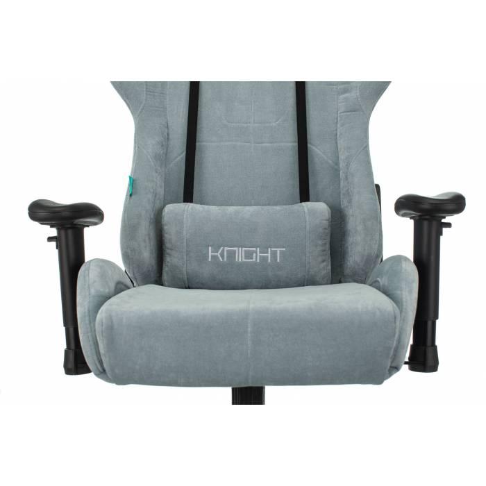 Кресло игровое Бюрократ VIKING KNIGHT LT28 FABRIC серо-голубой крестовина металл купить по выгодным ценам