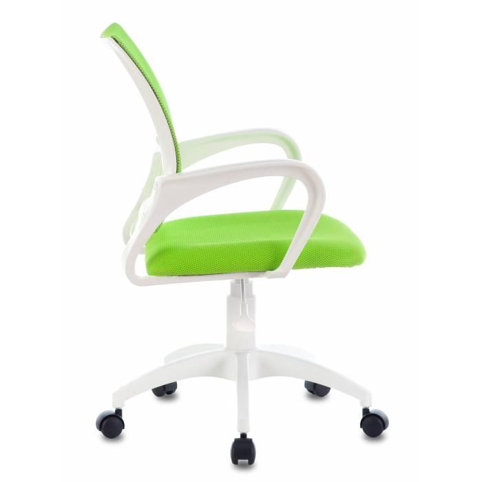 Кресло Бюрократ CH-W695NLT салатовый TW-03A TW-18 крестовина пластик пластик белый купить по выгодным ценам