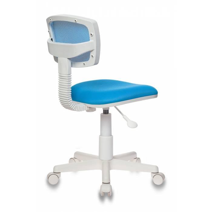 Детское кресло Бюрократ CH-W299 голубой TW-31 TW-55 крестовина пластик пластик белый купить по выгодным ценам