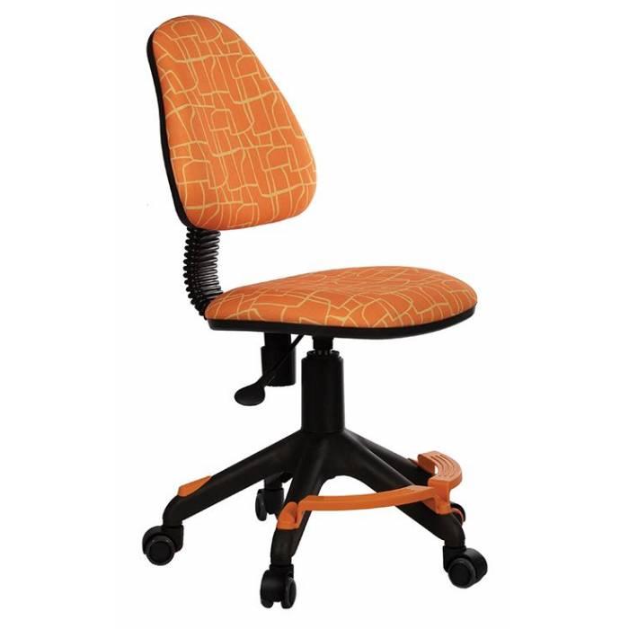 Кресло детское Бюрократ KD-4-F/GIRAFFE оранжевый жираф купить по выгодным ценам