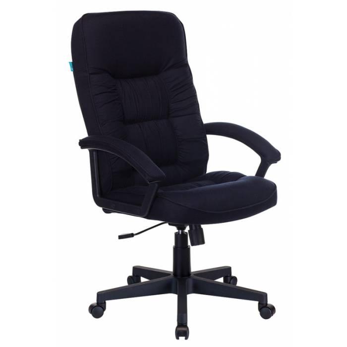 Кресло руководителя Бюрократ T-9908AXSN-Black черный TS-584 купить по выгодным ценам
