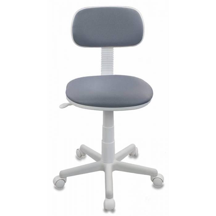 Детское кресло Бюрократ CH-W201NX серый 15-48 крестовина пластик пластик белый купить по выгодным ценам