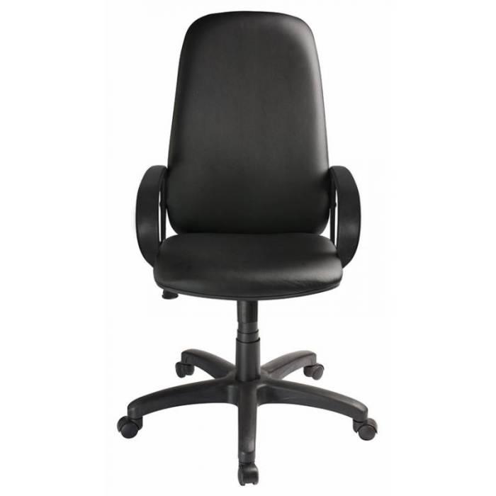 Кресло руководителя Бюрократ CH-808AXSN/Or-16 черный Or-16 искусственная кожа купить по выгодным ценам