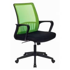 Кресло Бюрократ MC-201/SD/TW-11 спинка сетка салатовый TW-03A сиденье черный TW-11