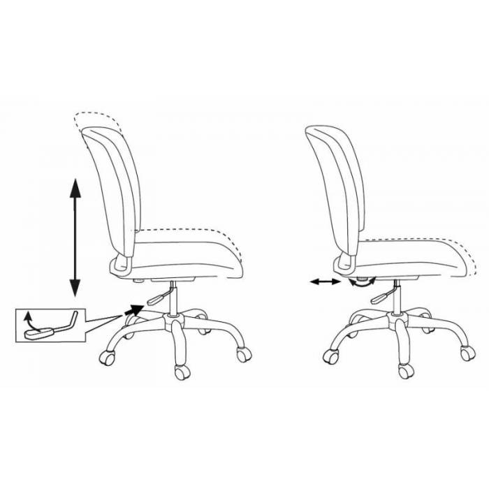 Кресло Бюрократ CH-322SXN/GREY спинка динамичная поддержка серый 26-25 крестовина хром купить по выгодным ценам
