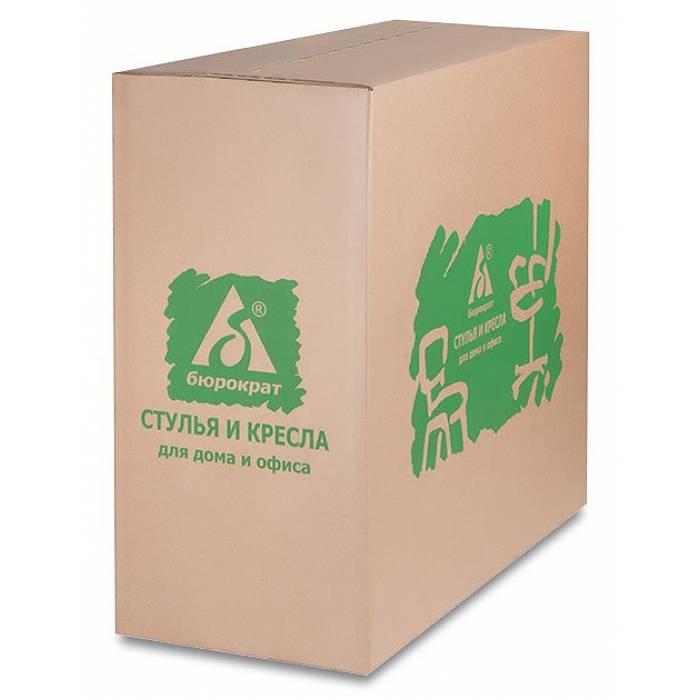 Кресло Бюрократ CH-322SXN серый 26-25 крестовина металл хром купить по выгодным ценам