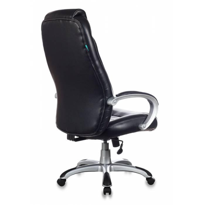 Кресло руководителя Бюрократ T-9923/BLACK-PU черный искусственная кожа купить по выгодным ценам