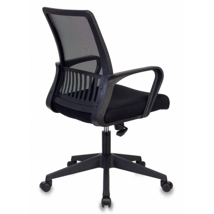 Кресло Бюрократ MC-201 черный TW-01 TW-11 крестовина пластик купить по выгодным ценам