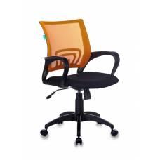 Кресло Бюрократ CH-695N/OR/TW-11 спинка сетка оранжевый TW-38-3 сиденье черный TW-11