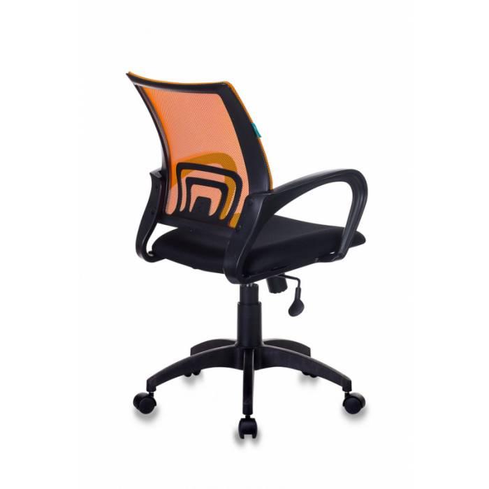 Кресло Бюрократ CH-695N оранжевый TW-38-3 сиденье черный TW-11 сетка/ткань крестовина пластик купить по выгодным ценам