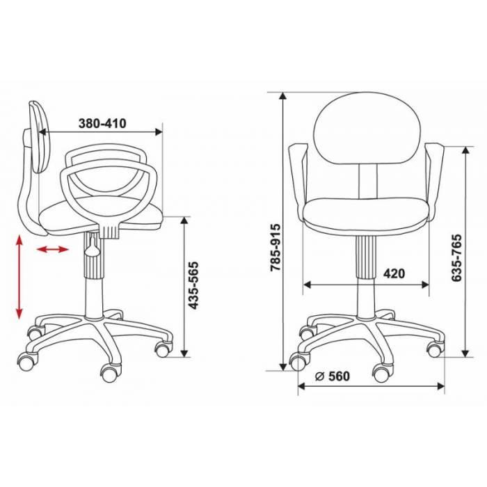 Кресло Бюрократ CH-213AXN/B черный 10-11 купить по выгодным ценам