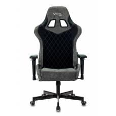 Кресло игровое Бюрократ VIKING 7 KNIGHT B FABRIC черный текстиль/эко.кожа крестовина металл