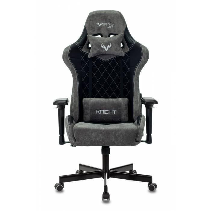 Кресло игровое Бюрократ VIKING 7 KNIGHT B FABRIC черный текстиль/эко.кожа крестовина пластик купить по выгодным ценам