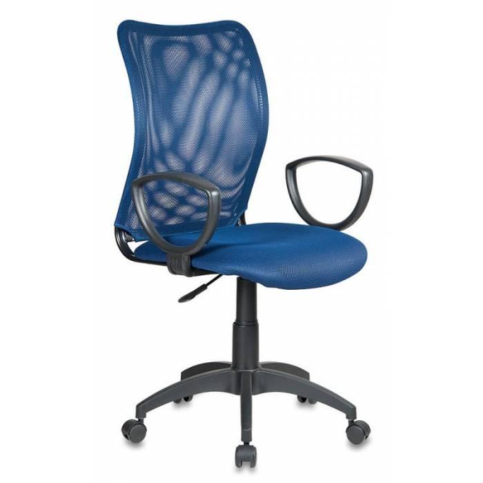 Кресло Бюрократ CH-599/DB/TW-10N спинка сетка темно-синий сиденье темно-синий TW-10N купить по выгодным ценам