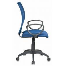 Кресло Бюрократ CH-599/DB/TW-10N спинка сетка темно-синий сиденье темно-синий TW-10N