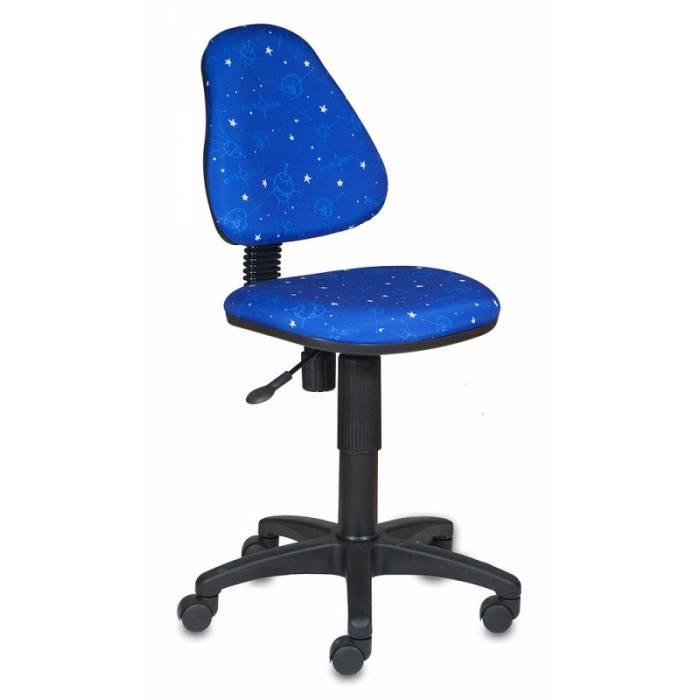 Кресло детское Бюрократ KD-4/Cosmos синий космос Cosmos купить по выгодным ценам