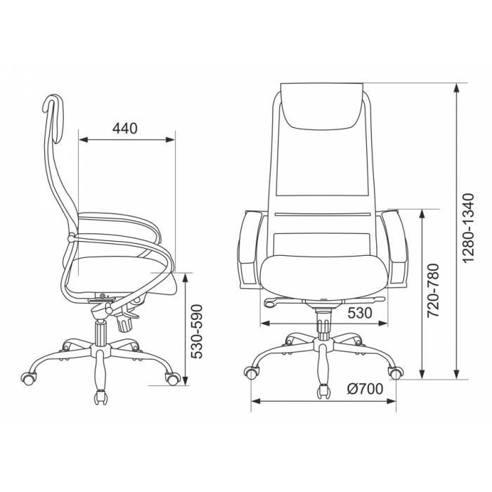Кресло руководителя Бюрократ CH-609SL/BLACK спинка сетка черный TW-01 TW-11 искусст.кожа/ткань крестовина хром купить по выгодным ценам