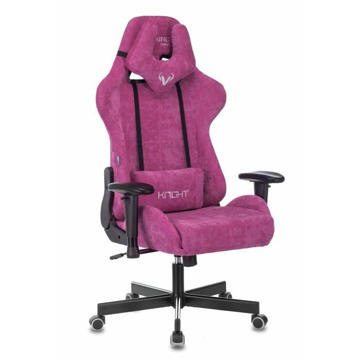 Кресло игровое Бюрократ VIKING KNIGHT LT15 FABRIC малиновый крестовина пластик купить по выгодным ценам